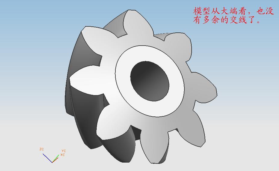 ug6.0锥齿轮画法_